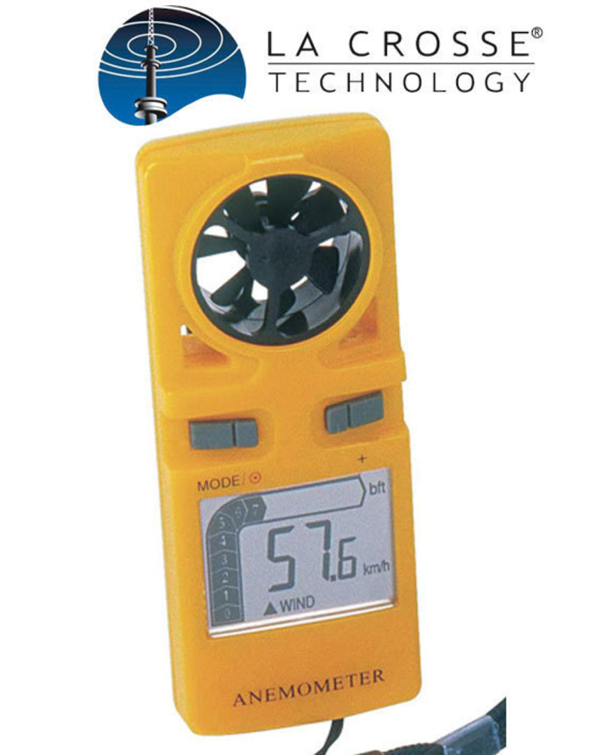 WS9500 La Crosse Handheld Wind Speed Indicator image 0