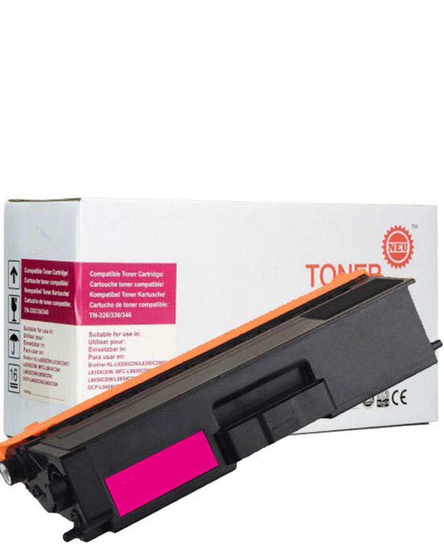 Compatible Brother TN346 Magenta Toner Cartridge image 0
