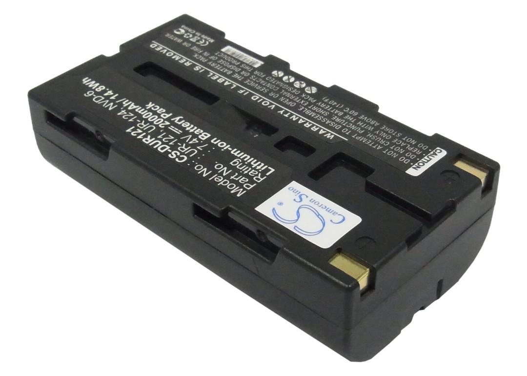 SANYO NVP-D6, UR-121, UR-121D Compatible Battery image 0