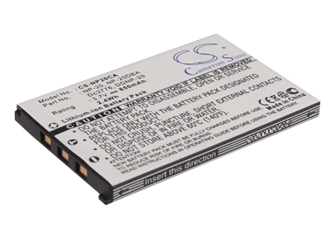 CASIO NP-20 NP20DBA Compatible Camera Battery image 0