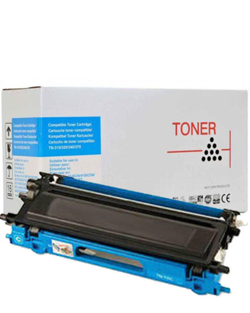 Compatible Brother TN340 Cyan Toner Cartridge image 0