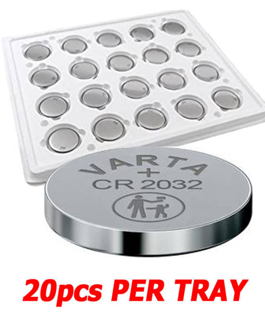 VARTA CR2032 Lithium Battery 20Pcs Tray image 0