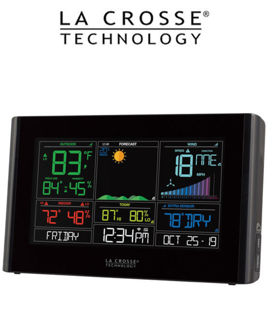 S82950 La Crosse WIFI Weather Station with AccuWeather Forecast image 1