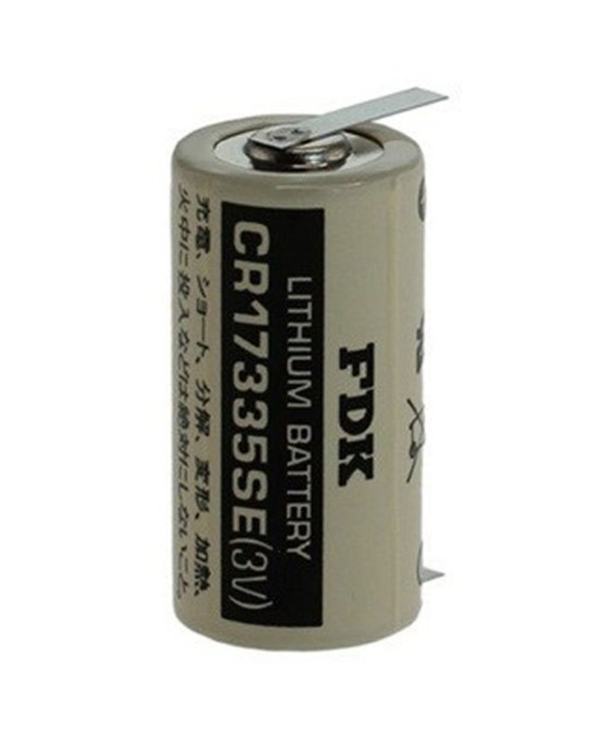 FDK CR17335SE 2/3A Specialised Lithium Battery with Tags image 0