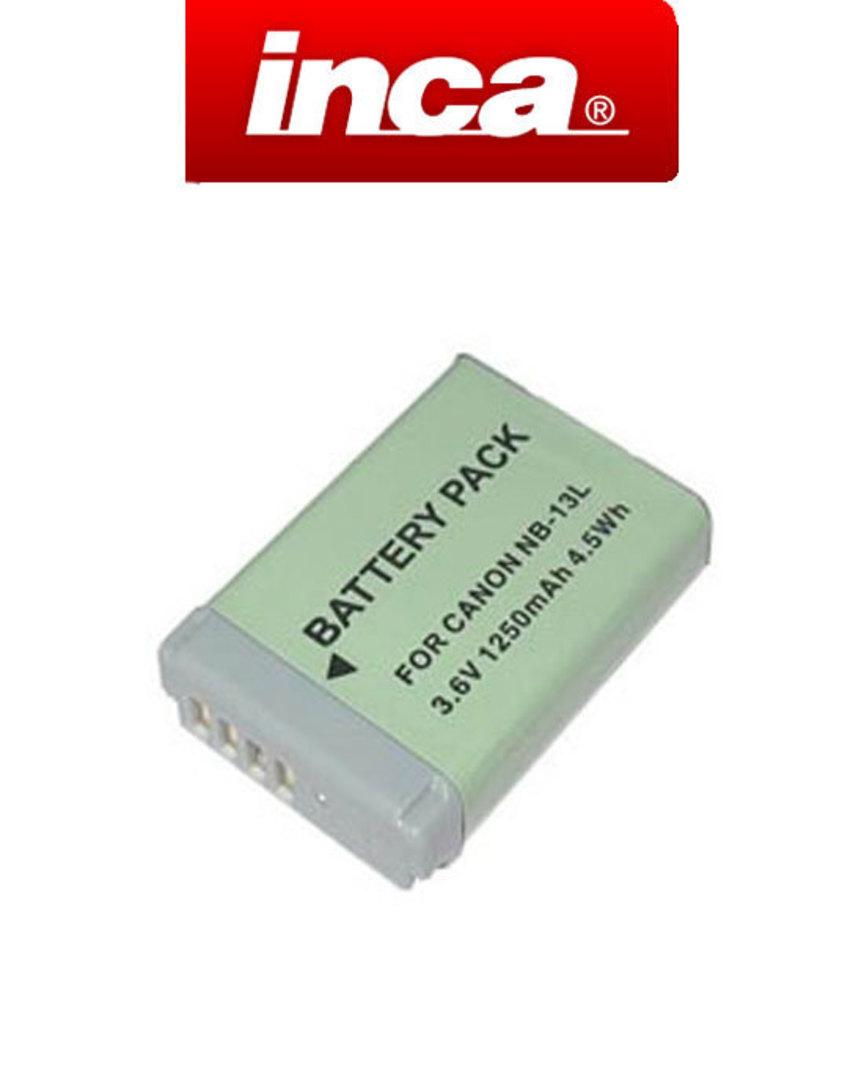 INCA CANON NB-13L NB13L Compatible Battery image 0