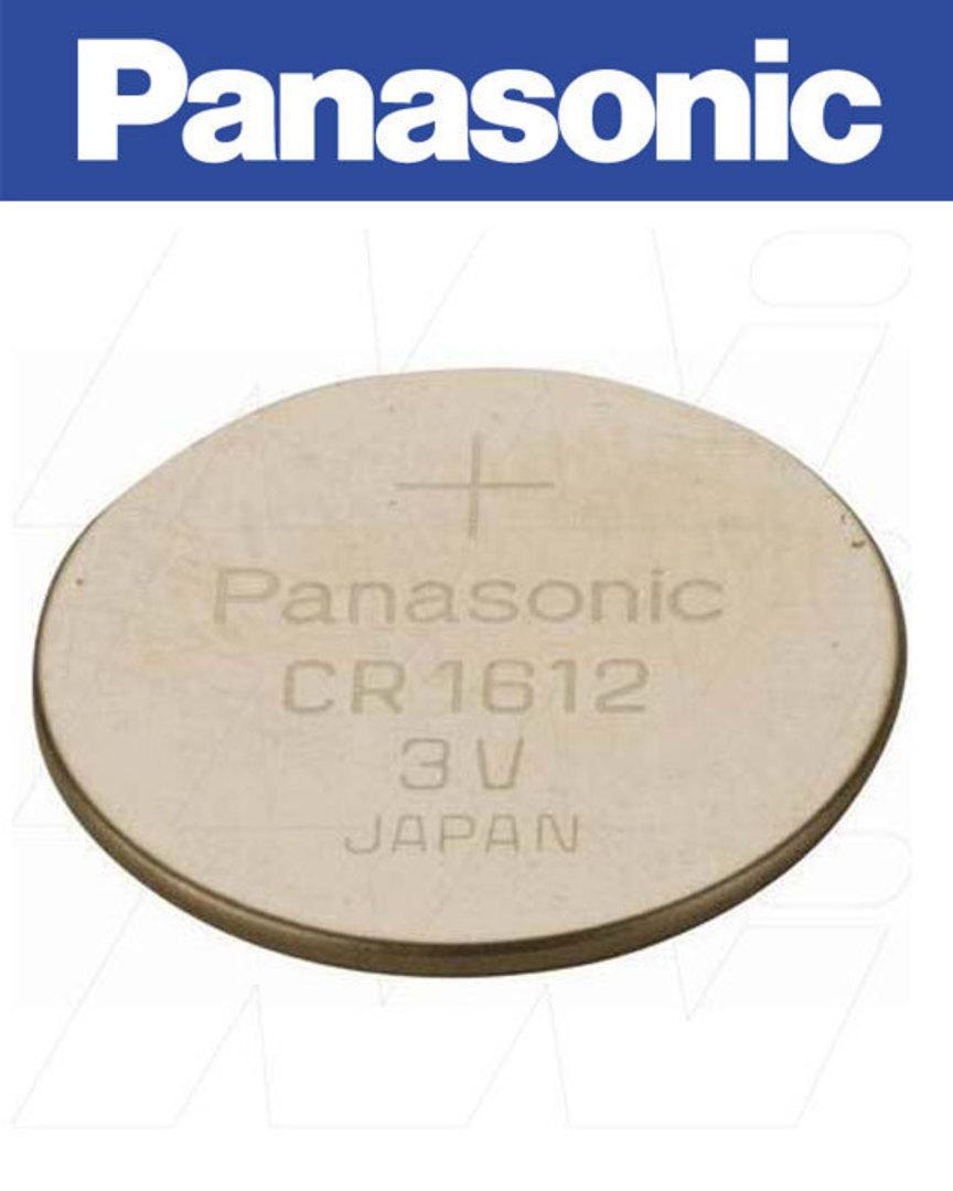 PANASONIC CR1612 Lithium Battery image 1
