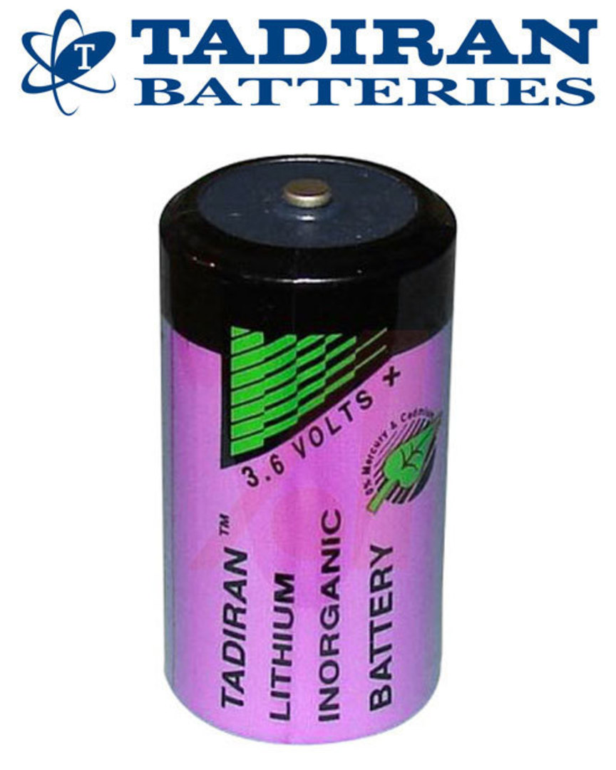 TADIRAN TL-5930 D Size 3.6V Lithium Battery image 2