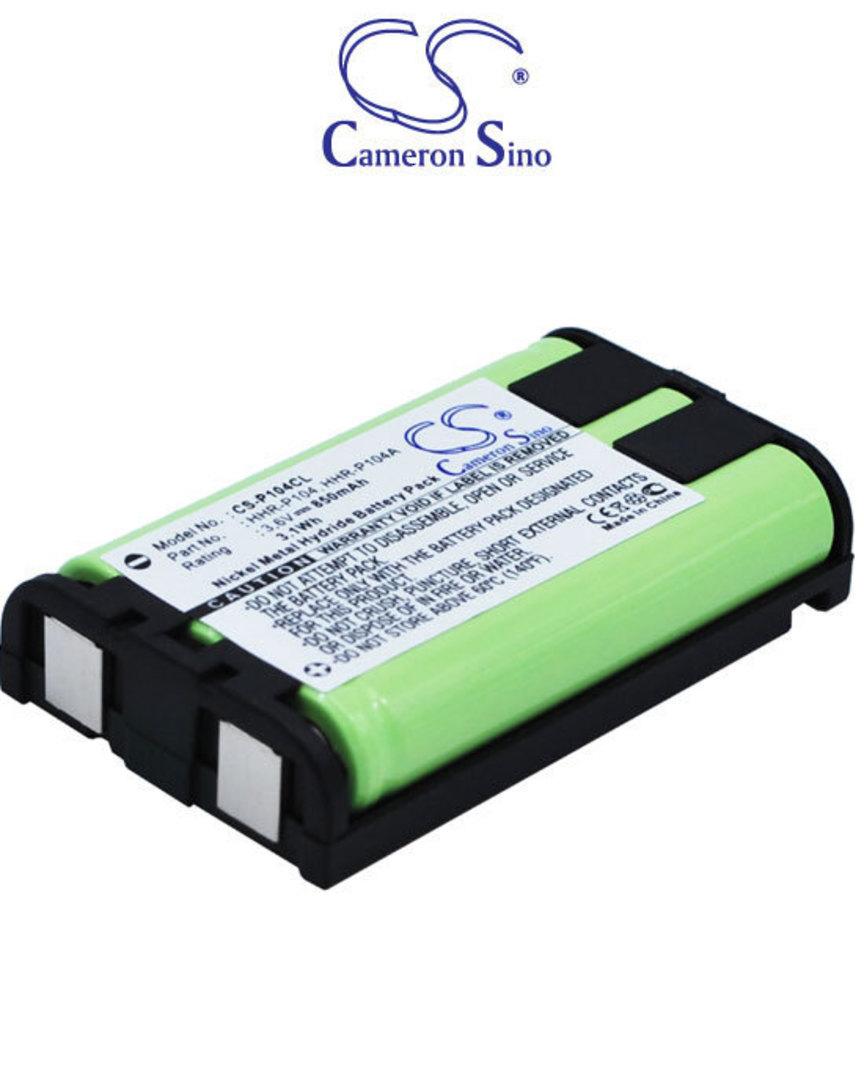 PANASONIC HHR-P104 TYPE 29 Cordless Phone Battery image 0