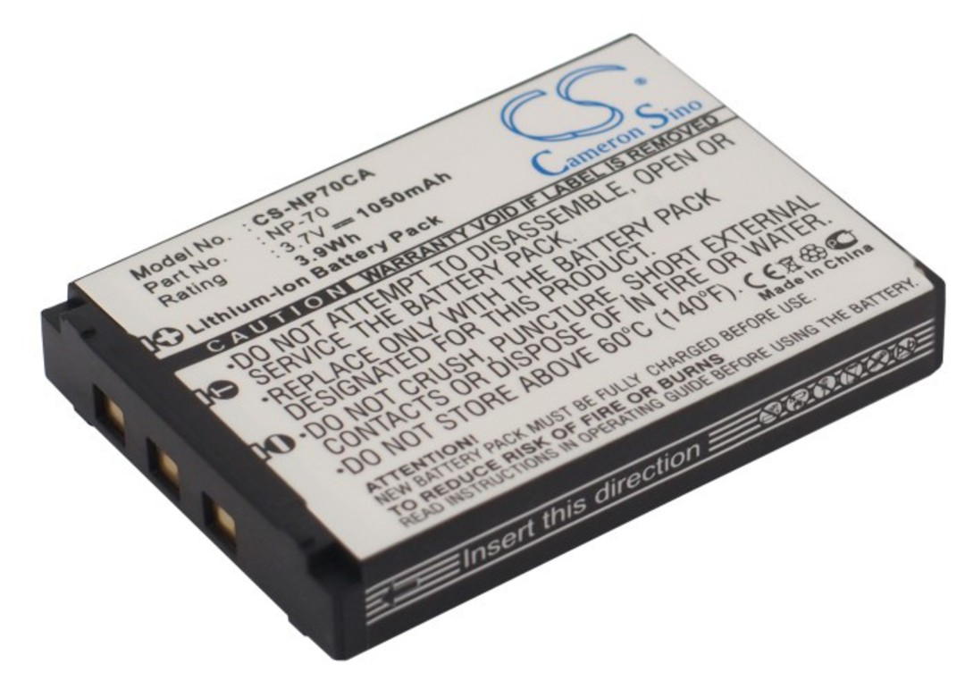 CASIO NP-70 Compatible Battery image 0