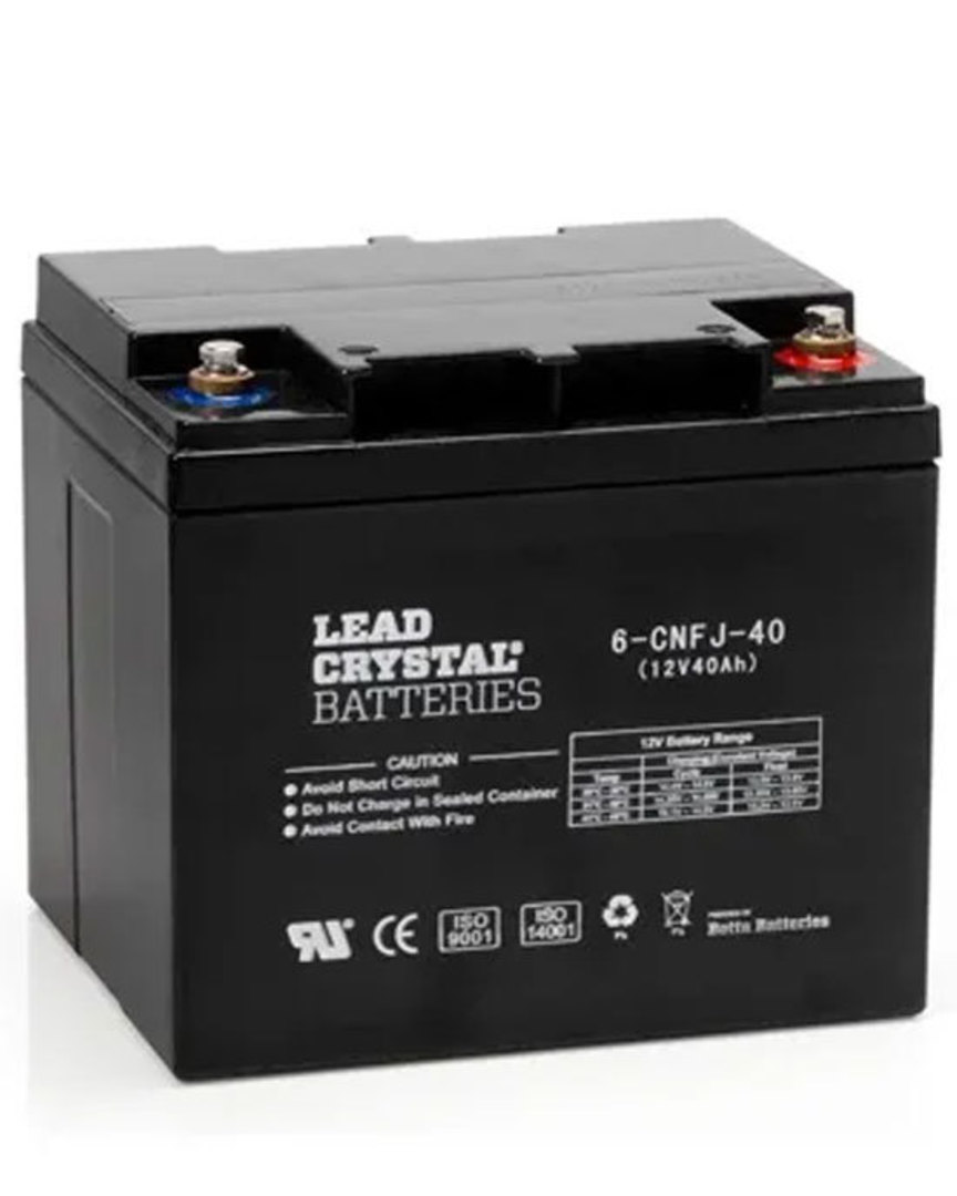 Lead Crystal 6-CNFJ-40 SLA 12V 40AH Battery image 0