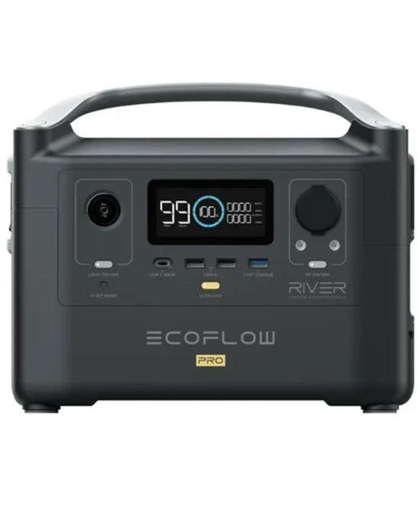 EcoFlow RIVER PRO Portable Power Station 200000mAh image 0