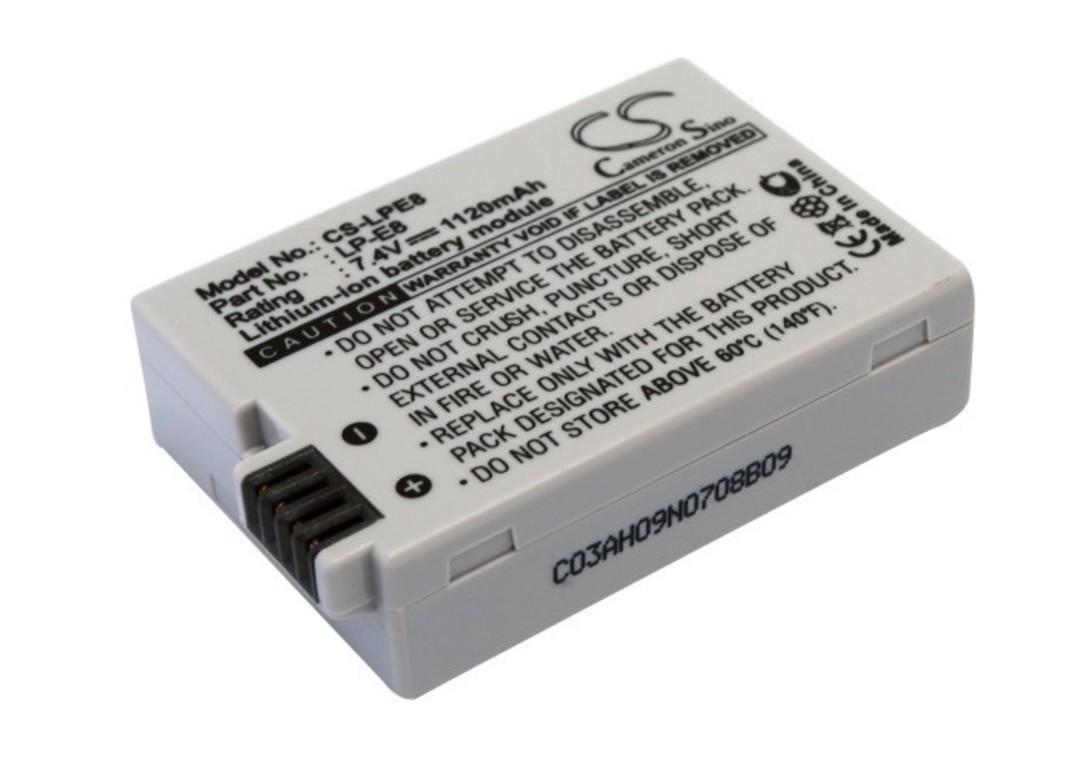CANON LP-E8, EF-S, EOS 550D, EOS 600D Compatible Battery image 0