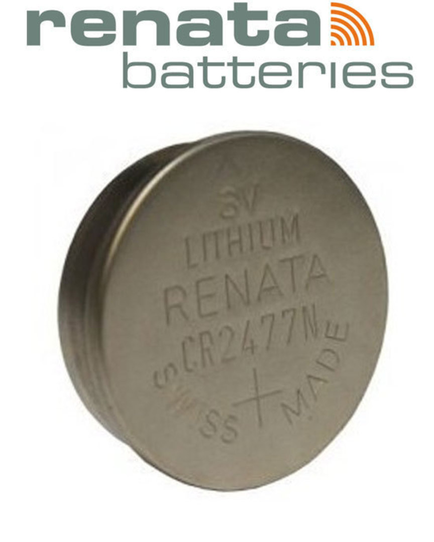 RENATA CR2477N Lithium Battery image 1