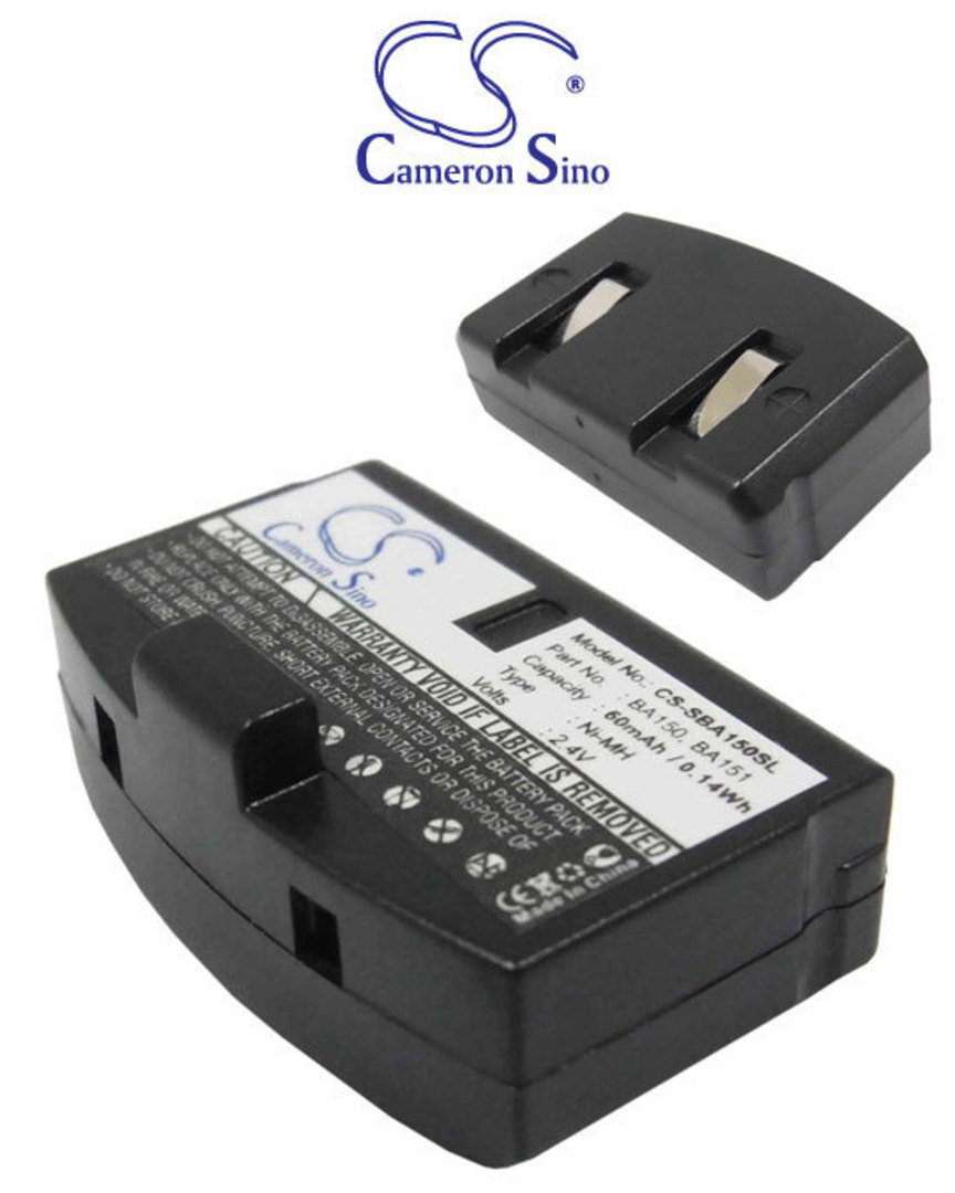 SENNHEISER BA150 SET-20 SET-820S Replacement Battery image 0