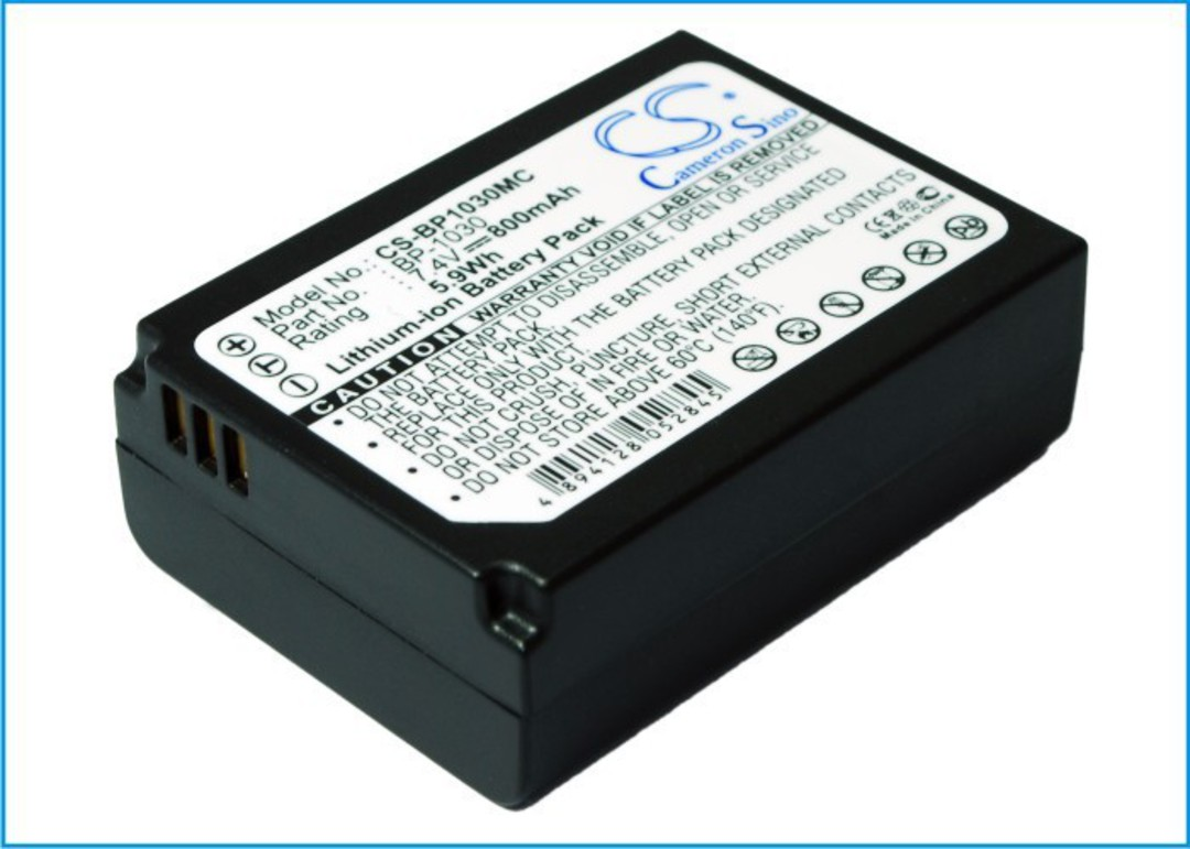 SAMSUNG BP-1030, ED-BP1030 Compatible Battery image 0