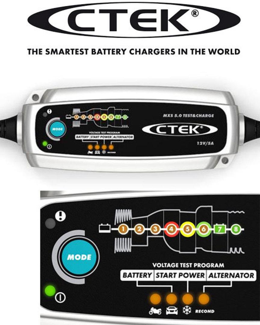 CTEK MXS Test and Charge 5.0 12V 5AMP NG CHARGER image 0