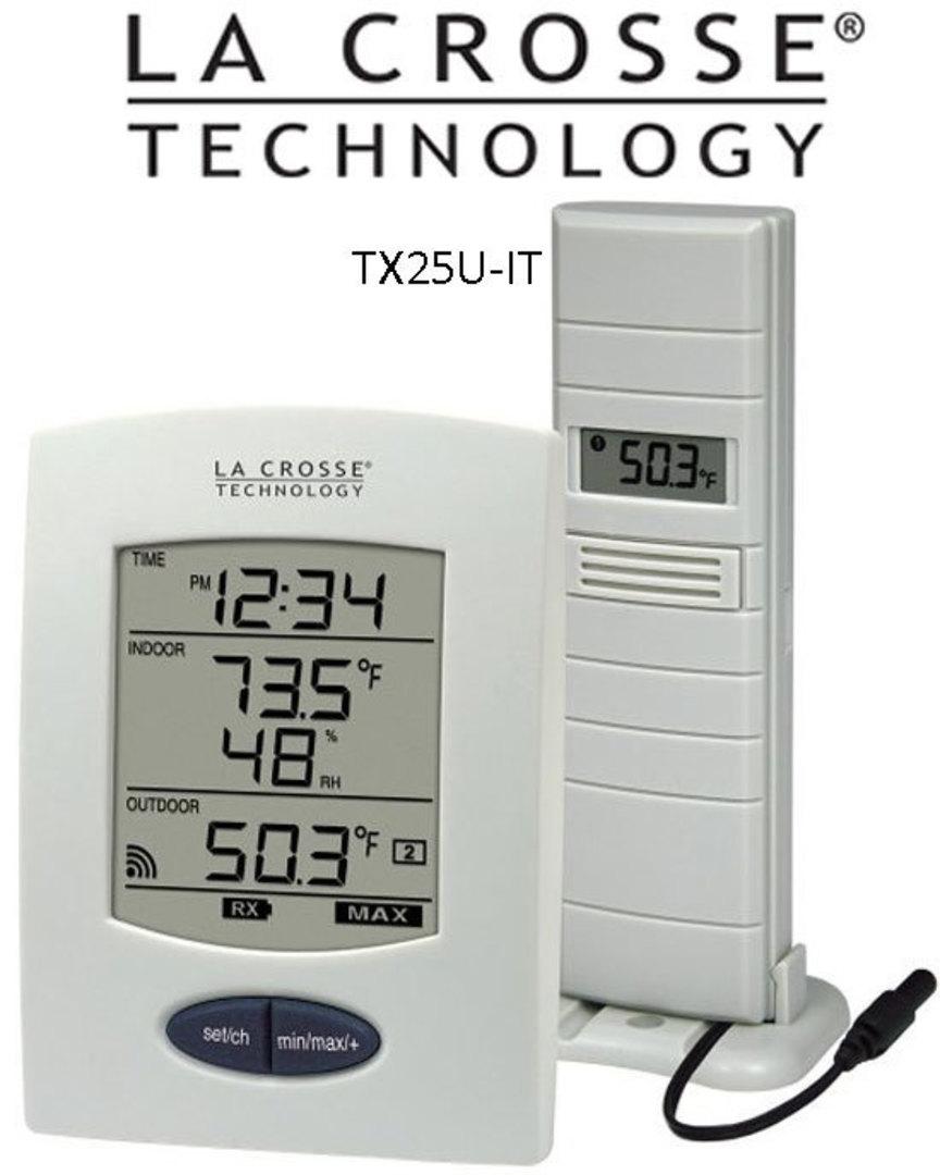 WS9029U-IT La Crosse Station with Temperature Probe image 0