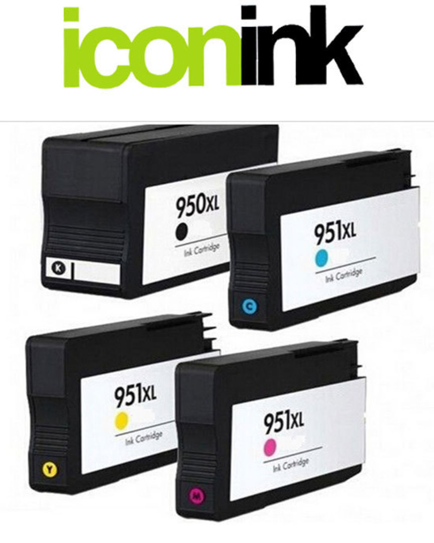 Compatible HP 950, HP 951 XL High Yield Ink Cartridge Set image 0