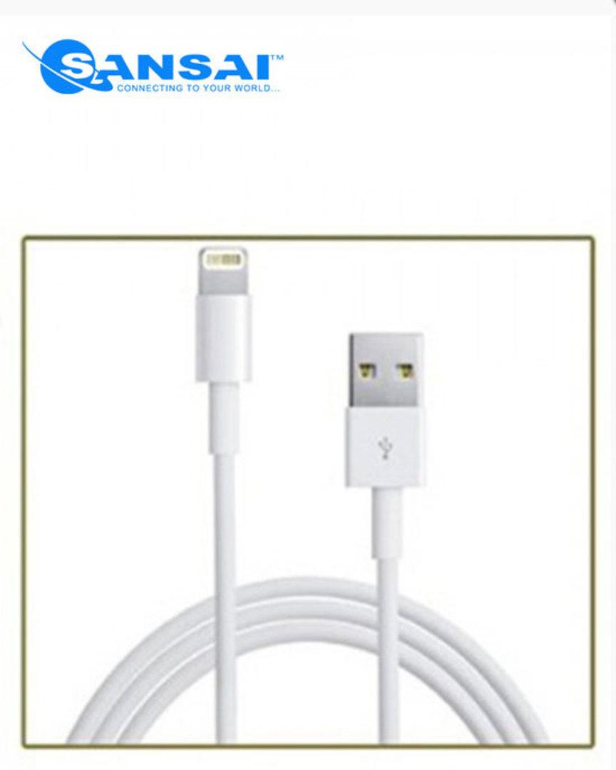 SANSAI Lightning to USB Cable image 0