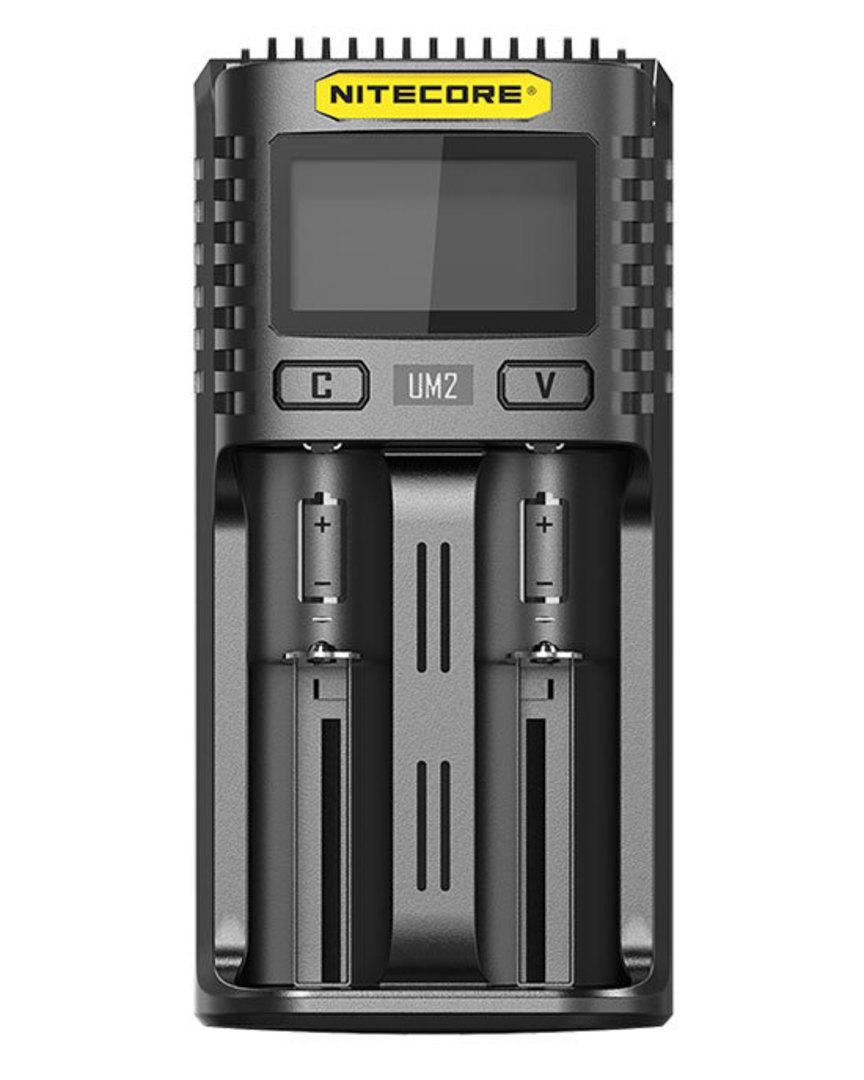NITECORE UM2 Intelligent USB Two-Slot Charger image 1