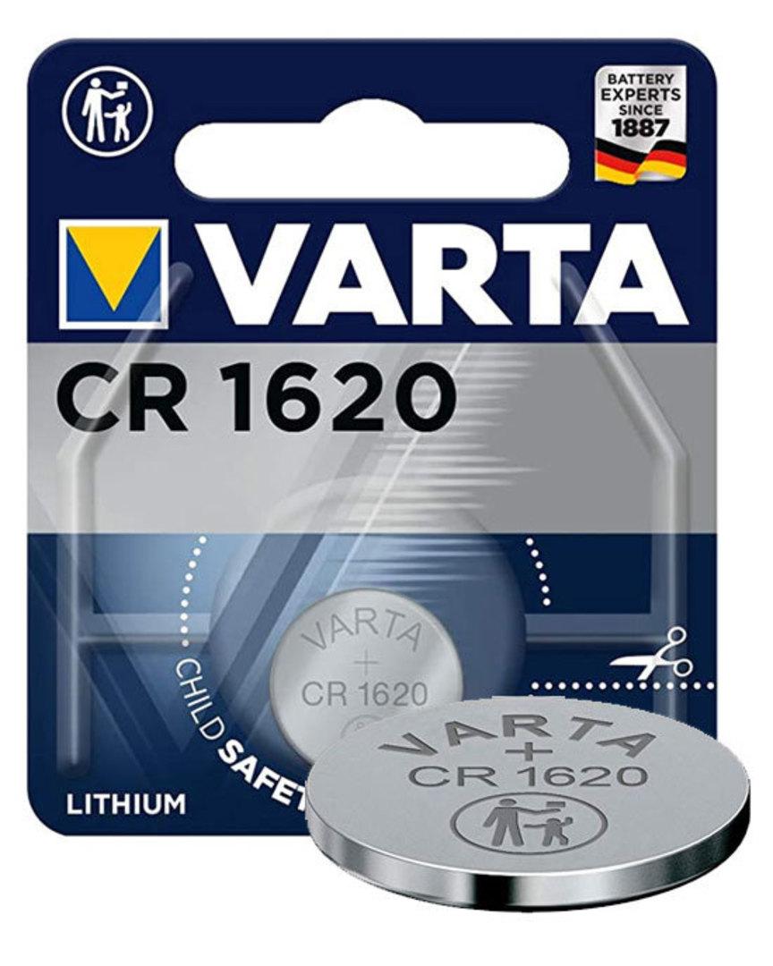 VARTA CR1620 Lithium Battery image 0