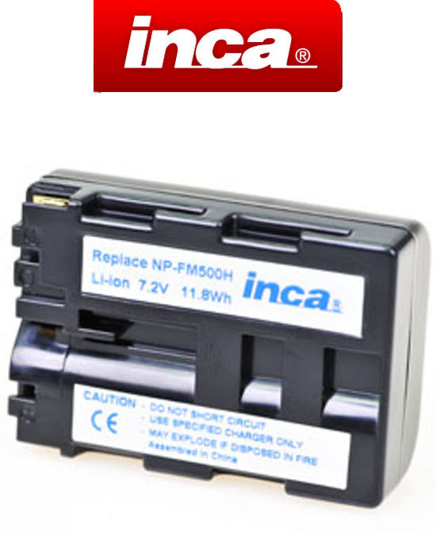 INCA SONY NP-FM500H Compatible Battery image 0