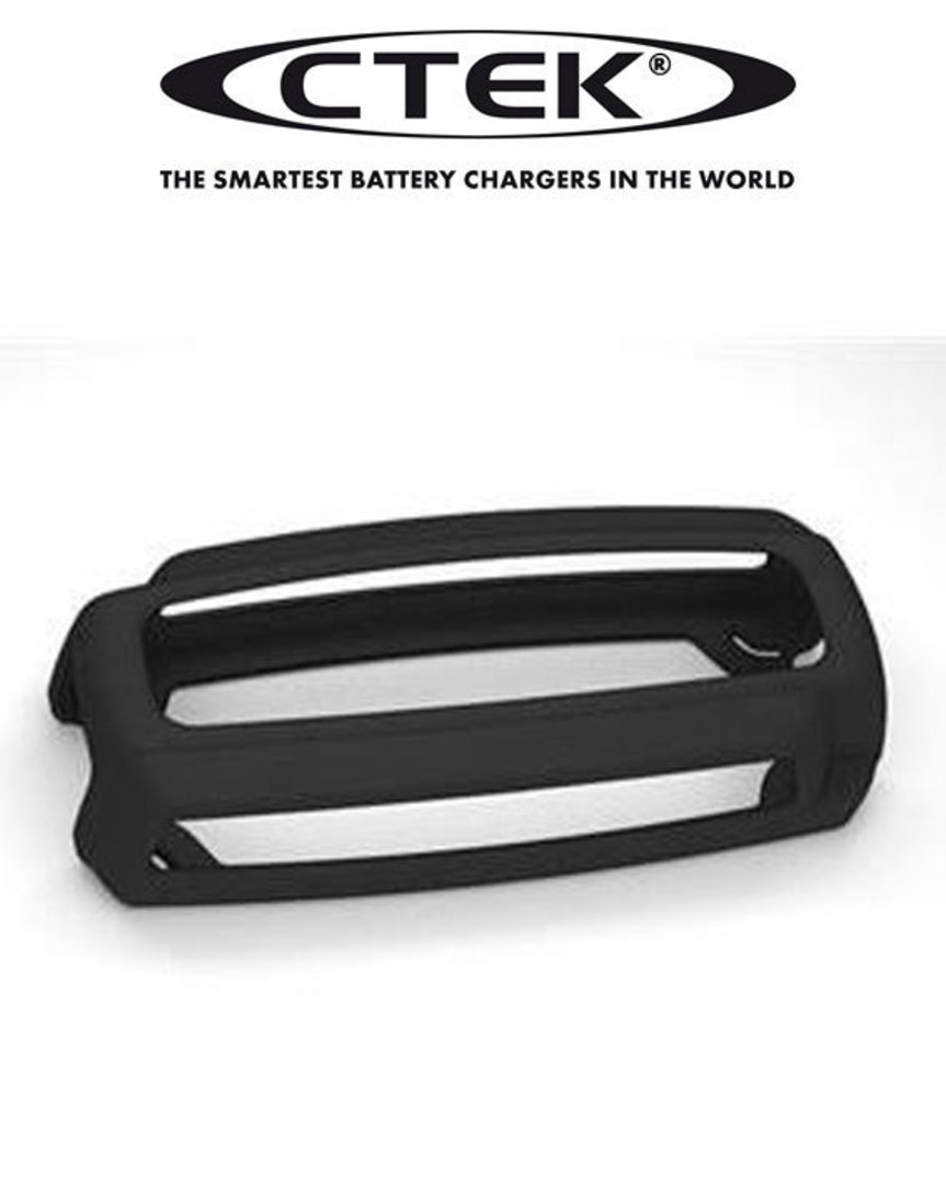 CTEK Black Rubber Bumper for MXS 5.0 and MXS 3.8 image 0
