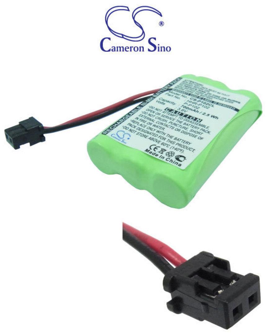 PANASONIC HHR-P102 UNIDEN BBTY0483001 Cordless Battery image 0