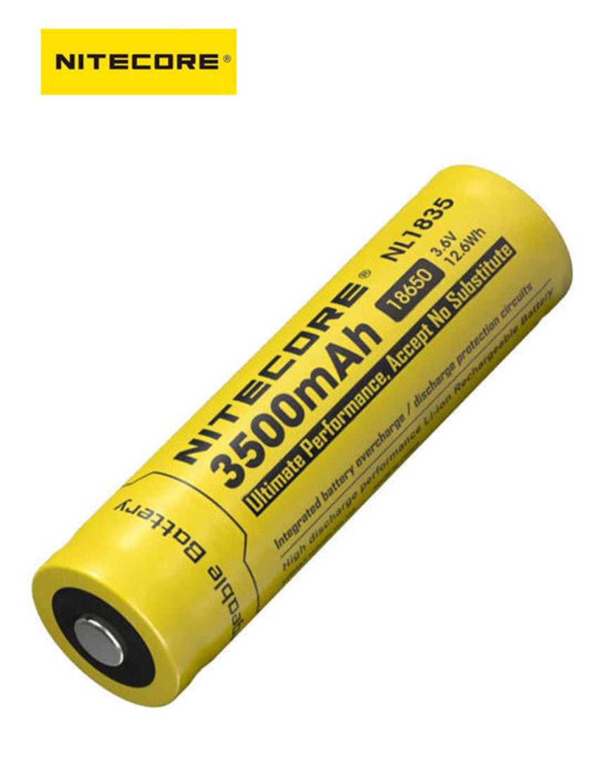 NITECORE NL1835 18650 3500mAh Lithium Battery image 0