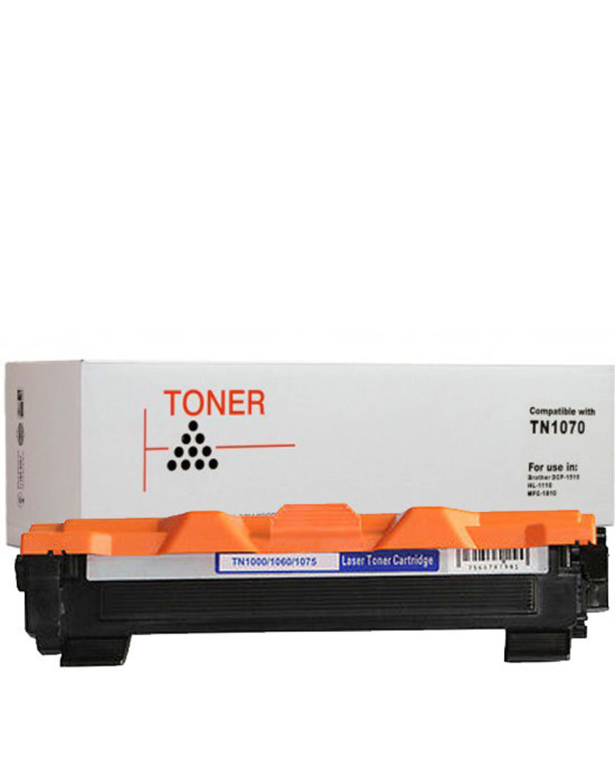 Compatible Brother TN1070 Black Toner image 0