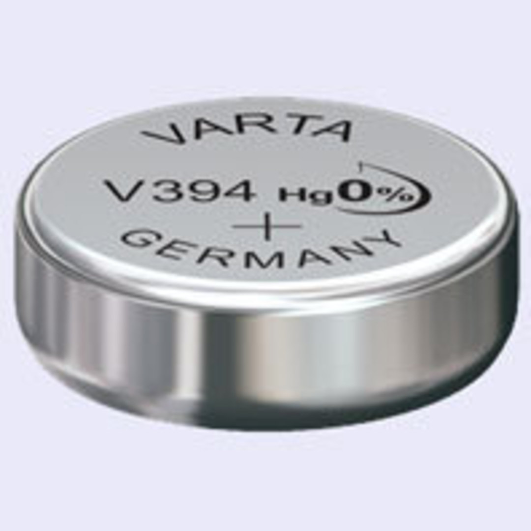 VARTA 394 SR45 SR396 Watch Battery image 0