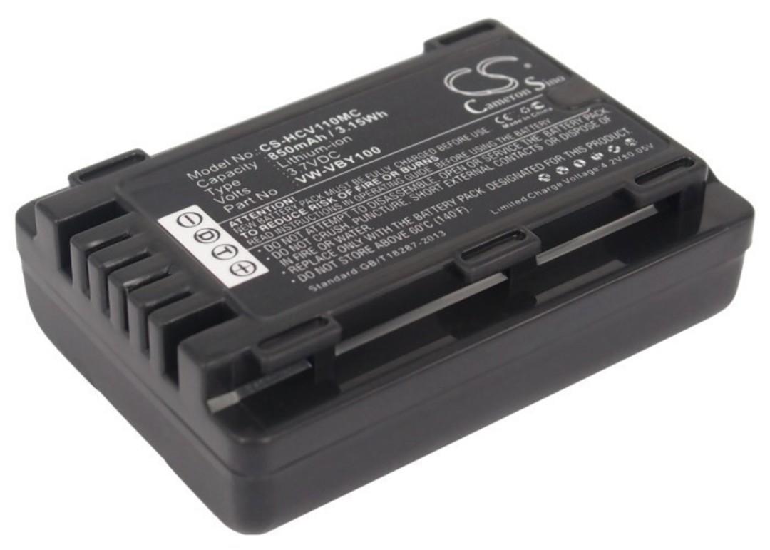 PANASONIC VW-VBY100 Compatible Battery image 0