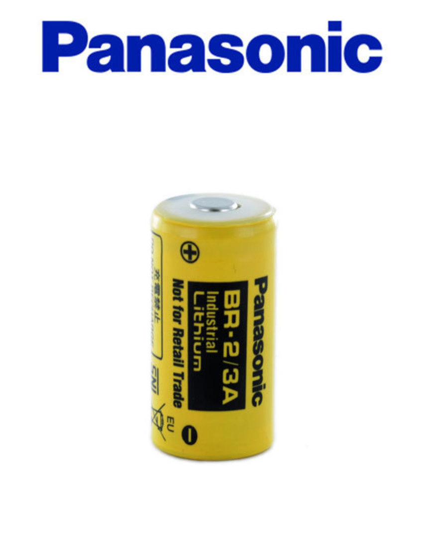 PANASONIC BR-2/3A Industrial Lithium Battery image 0