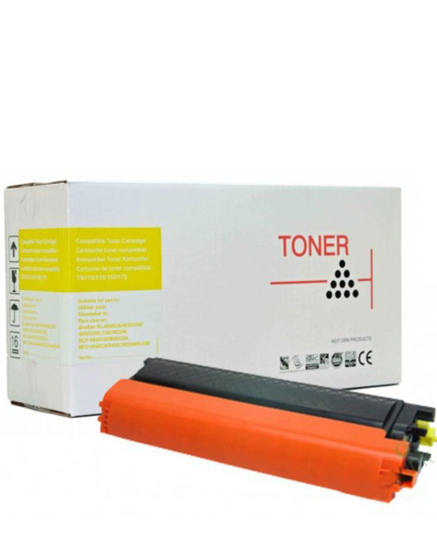 Compatible Brother TN155 Yellow Toner Cartridge image 0