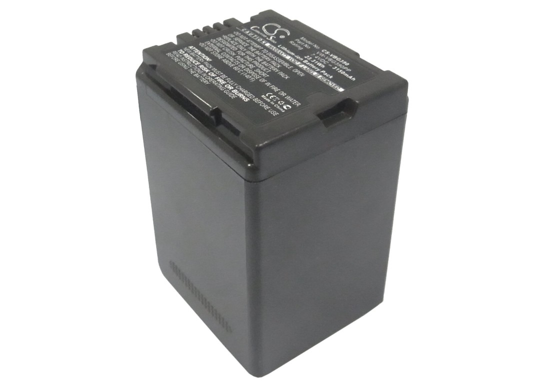 PANASONIC VW-VBG390, VW-VBG390E, VW-VBG390K Compatible Battery image 0