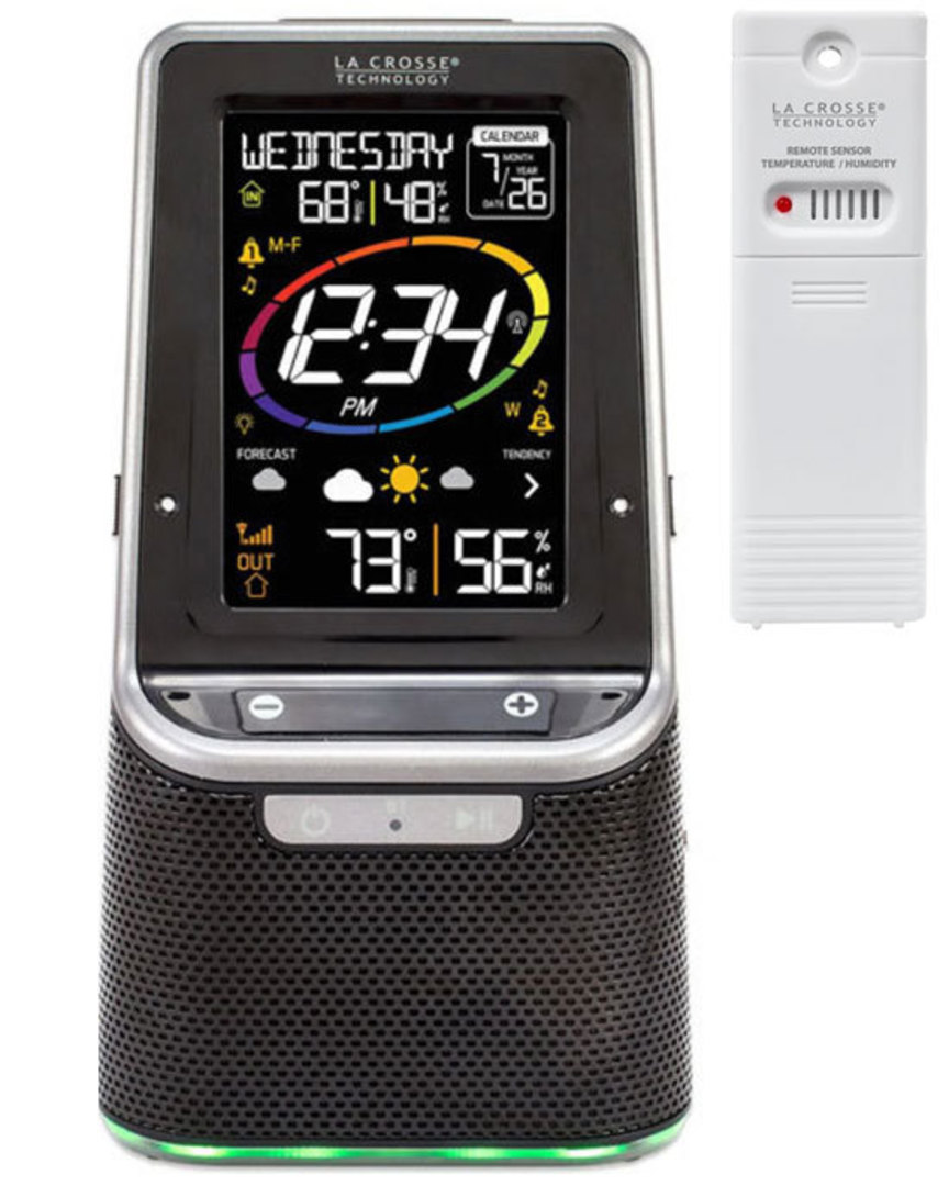 S86842 La Crosse Bluetooth Speaker Station image 0