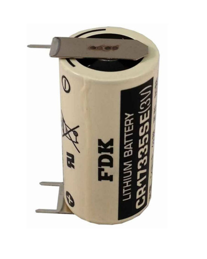 FDK CR17335SE 2/3A Specialised Lithium Battery with 3 Pin image 0