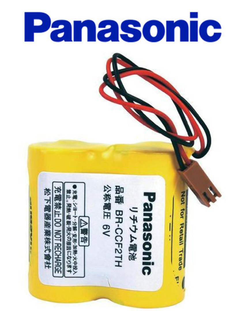PANASONIC BR-C BR-CCF2TH A98L-0001-0902 6V Battery image 2