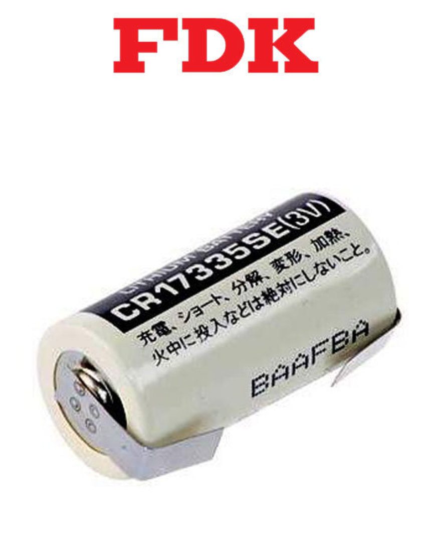 FDK CR17335SE 2/3A with Tag Specialised Lithium Battery image 0