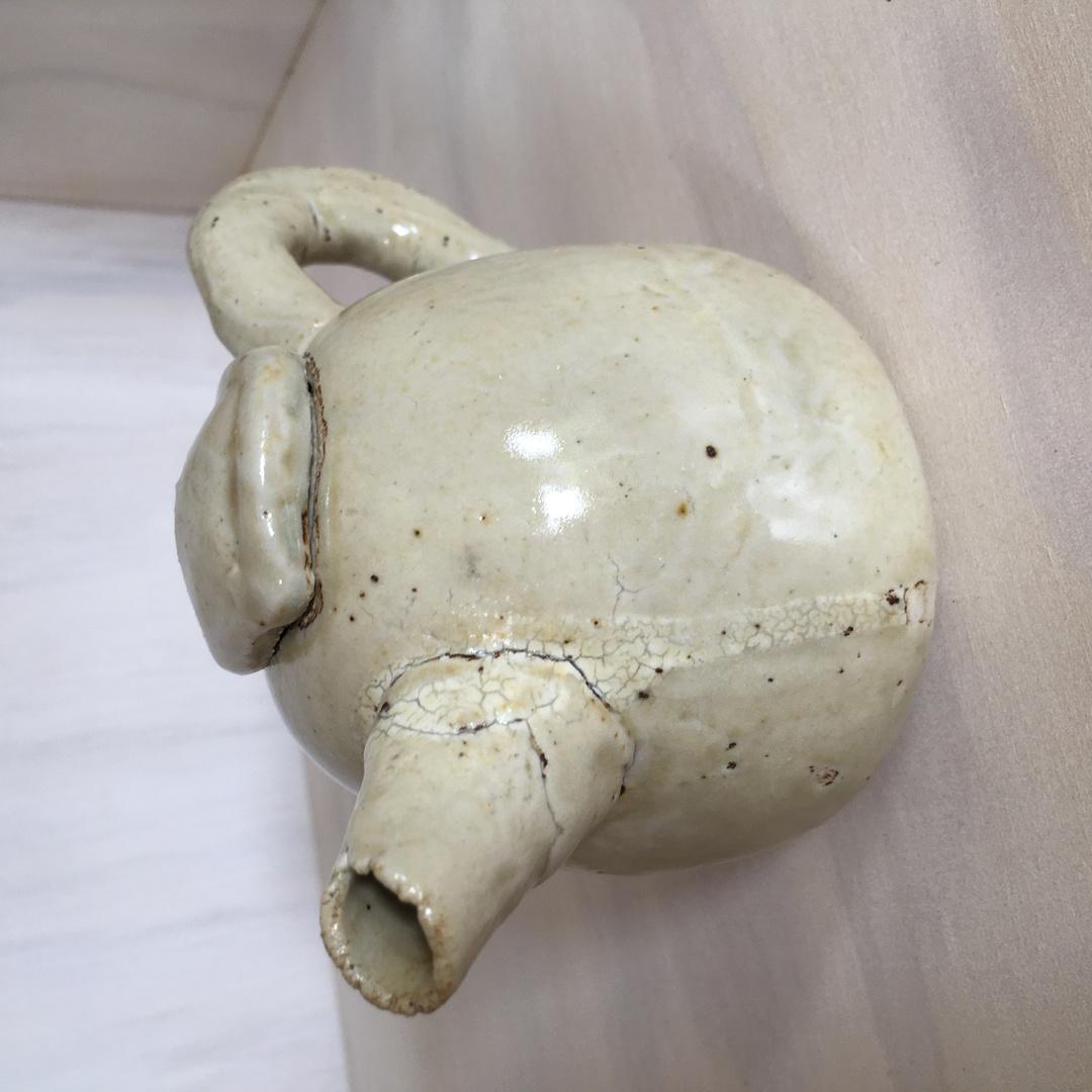 Ahumata Raw Fired Teapot image 1