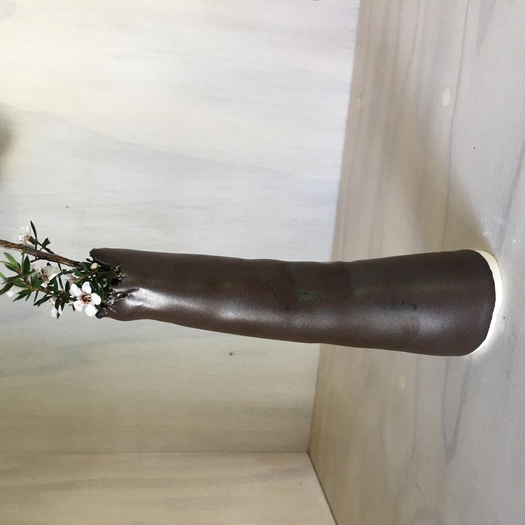 chocolate tube vases image 1