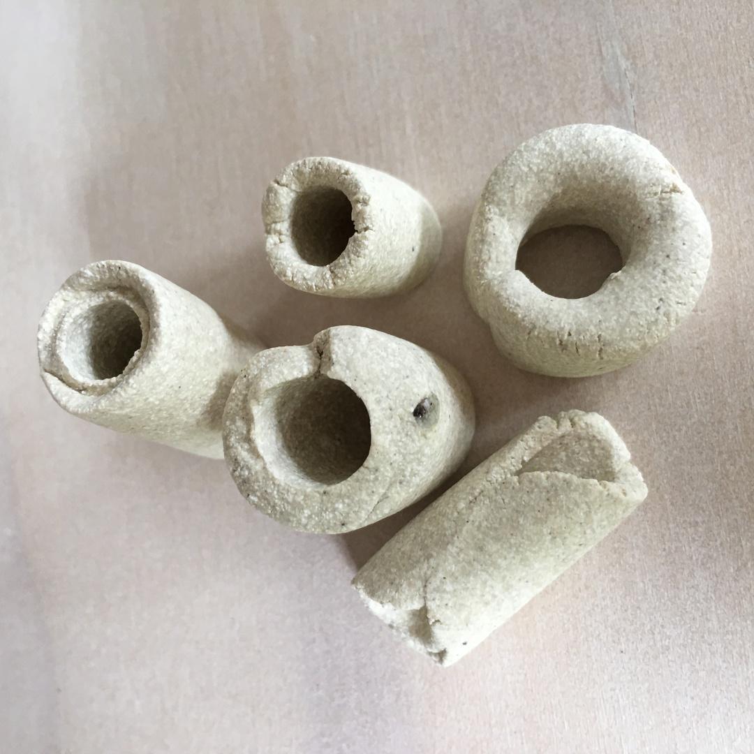 Wild Clay Dreadlock Beads image 0