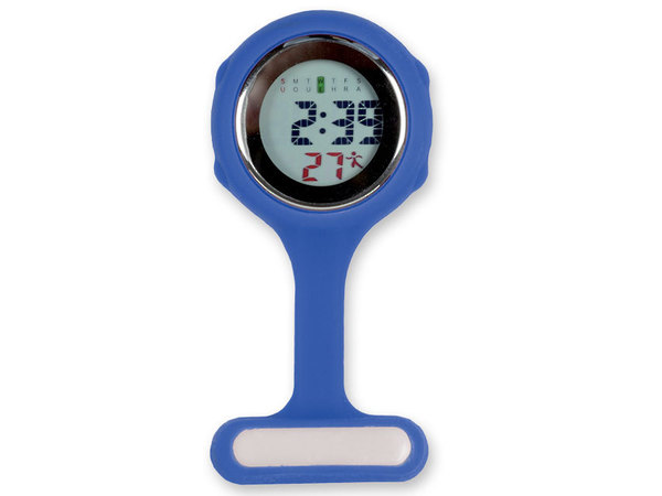 Nurse watch with clear, easy to read display - Blue image 0