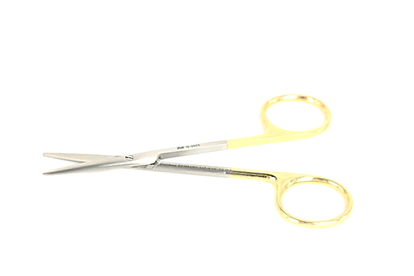 SKLAR Strabismus Scissors Straight 11.5cm TC image 0