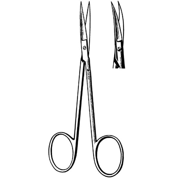 SKLAR Iris Scissors Curved 11.5cm image 0