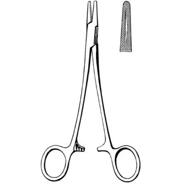 MERIT Mayo-Hegar Needle Holder 15cm image 0