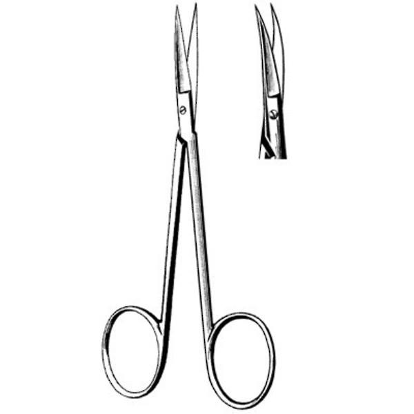 SURGI-OR Iris Scissors Curved 11.5cm image 0
