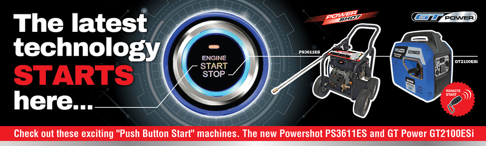 The Latest Technology Starts Here - Push Button Electric Start Machines