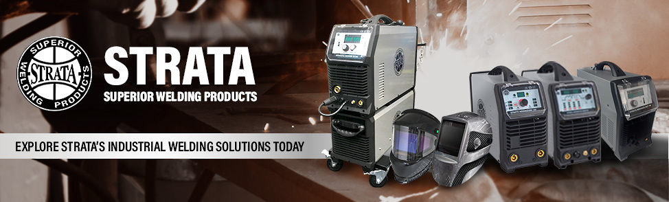 Strata Industrial Welding Machines Banner