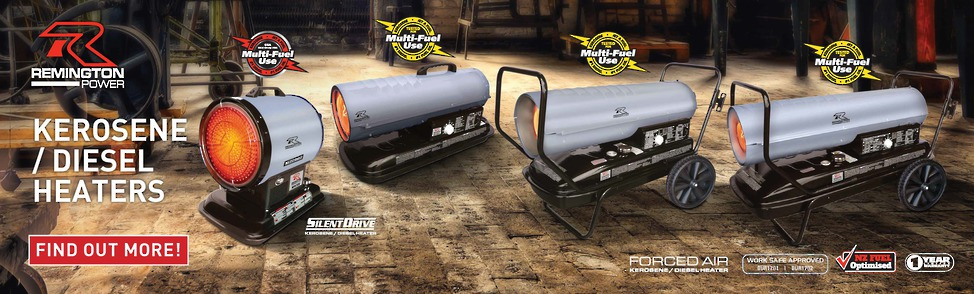 Remington Kerosene/ Diesel Heater Range